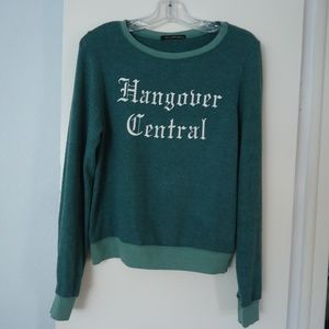 WILDFOX Hangover Central Pullover Sweater XS NEW!